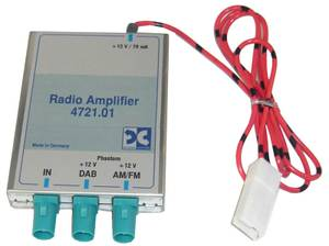 Bilde av FM/DAB antenneadapter 3x FAKRA