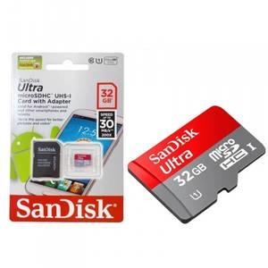 Bilde av SANDISK MicroSDHC Ultra 32GB m/adapter
