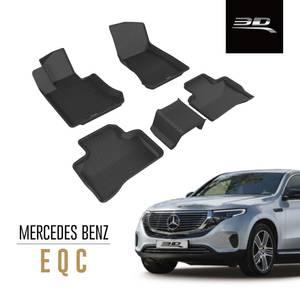 Bilde av 3D MAXpider KAGU gulvmatter Mercedes EQC