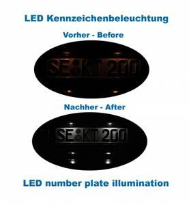 Bilde av LED-skiltlys Audi A4, A5, Q5 - komplett kit